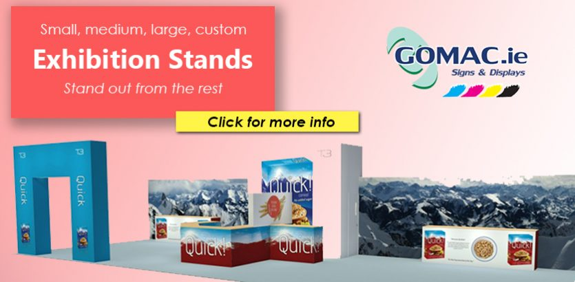 exhibition stand slider