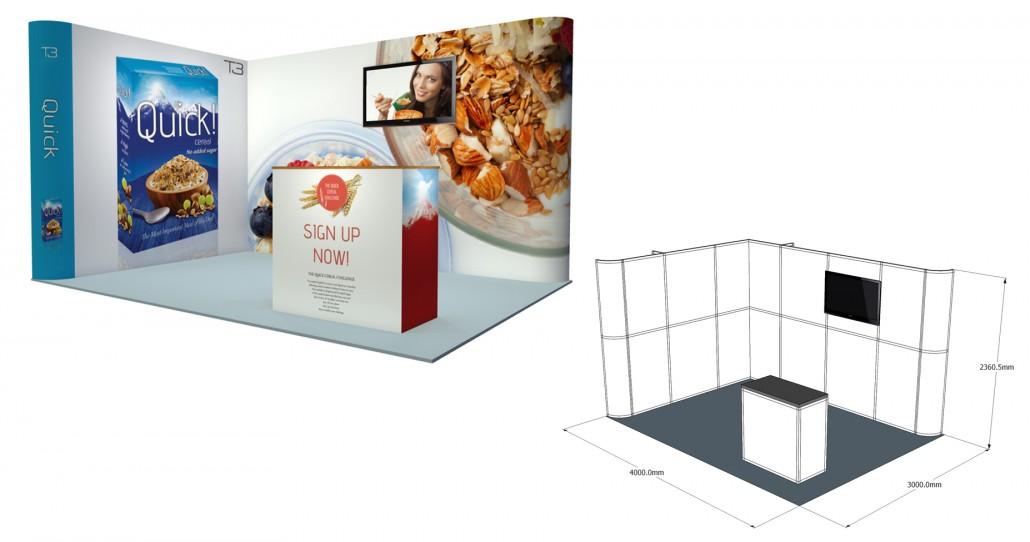 Small Exhibition Stand Up : Small exhibition stand gomac signs