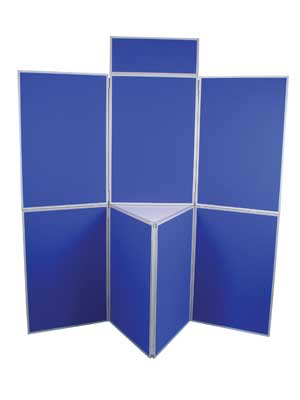 7 panel blue