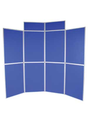 8 panel blue