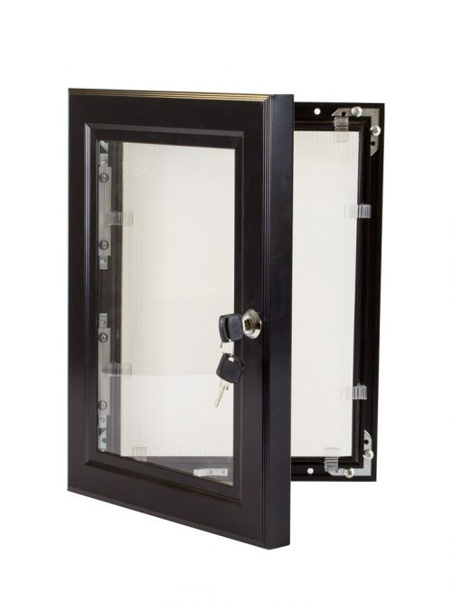 Lockable-Poster-Case-Black-1200×1200