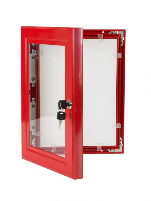 Lockable-Poster-Case-Red-1200×1200
