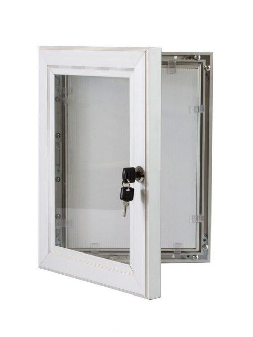 Lockable-Poster-Case-Silver-1200×1200